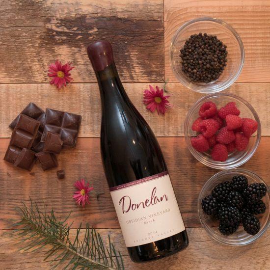 Donelan Wines Obsidian Vineyard Syrah