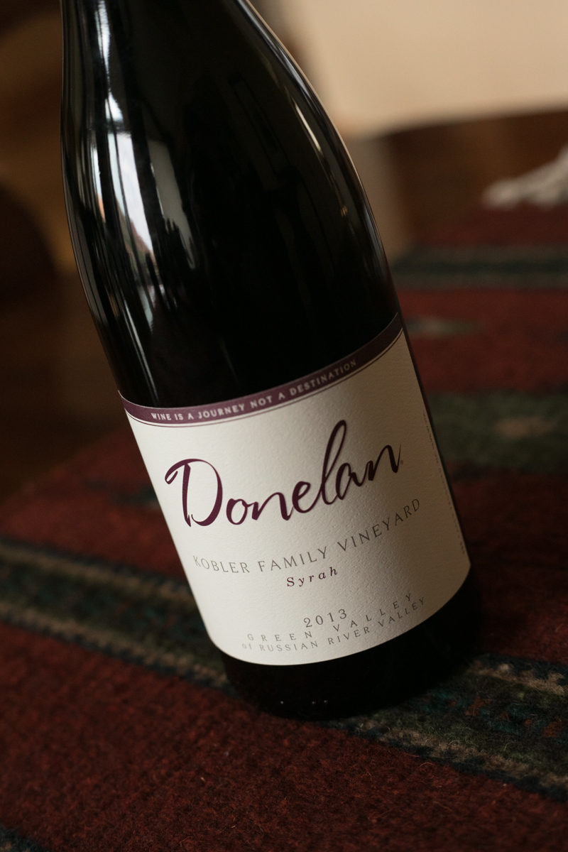 Donelan Kobler Family Vineyard Syrah